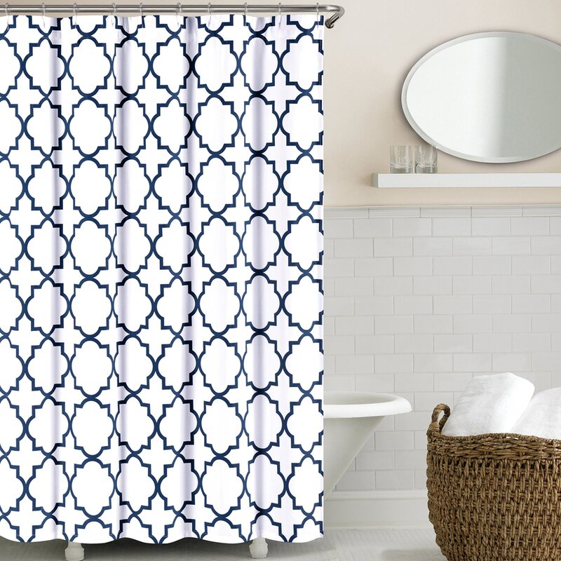 Prattsburgh Cotton Shower Curtain
