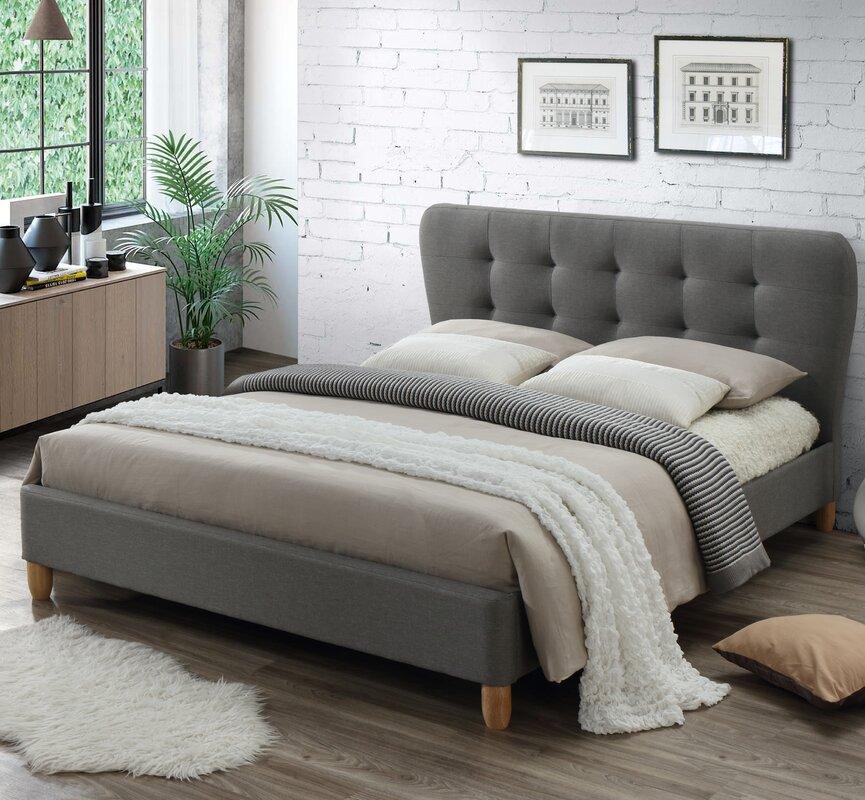 baxton studio rosina upholstered full platform bed