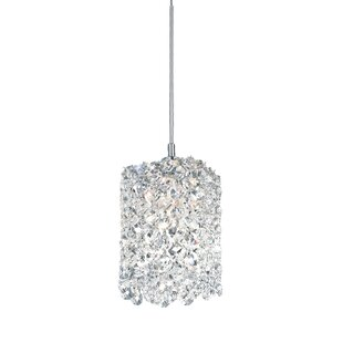 Crystal pendants youll love wayfair refrax 1 light mini crystal pendant mozeypictures Gallery