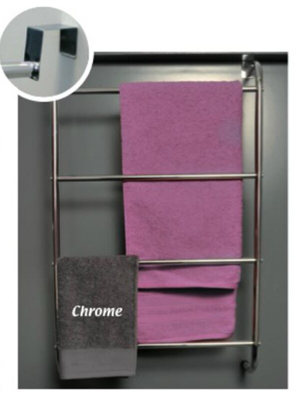 Evideco Four Bar Over The Door Towel Rack Amp Reviews