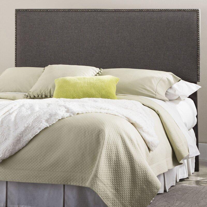 default_name - Fashion Bed Group Brookdale Nailhead Trim Upholstered Panel
