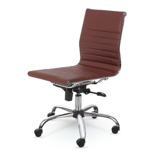 Tan Leather Office Chair | Wayfair
