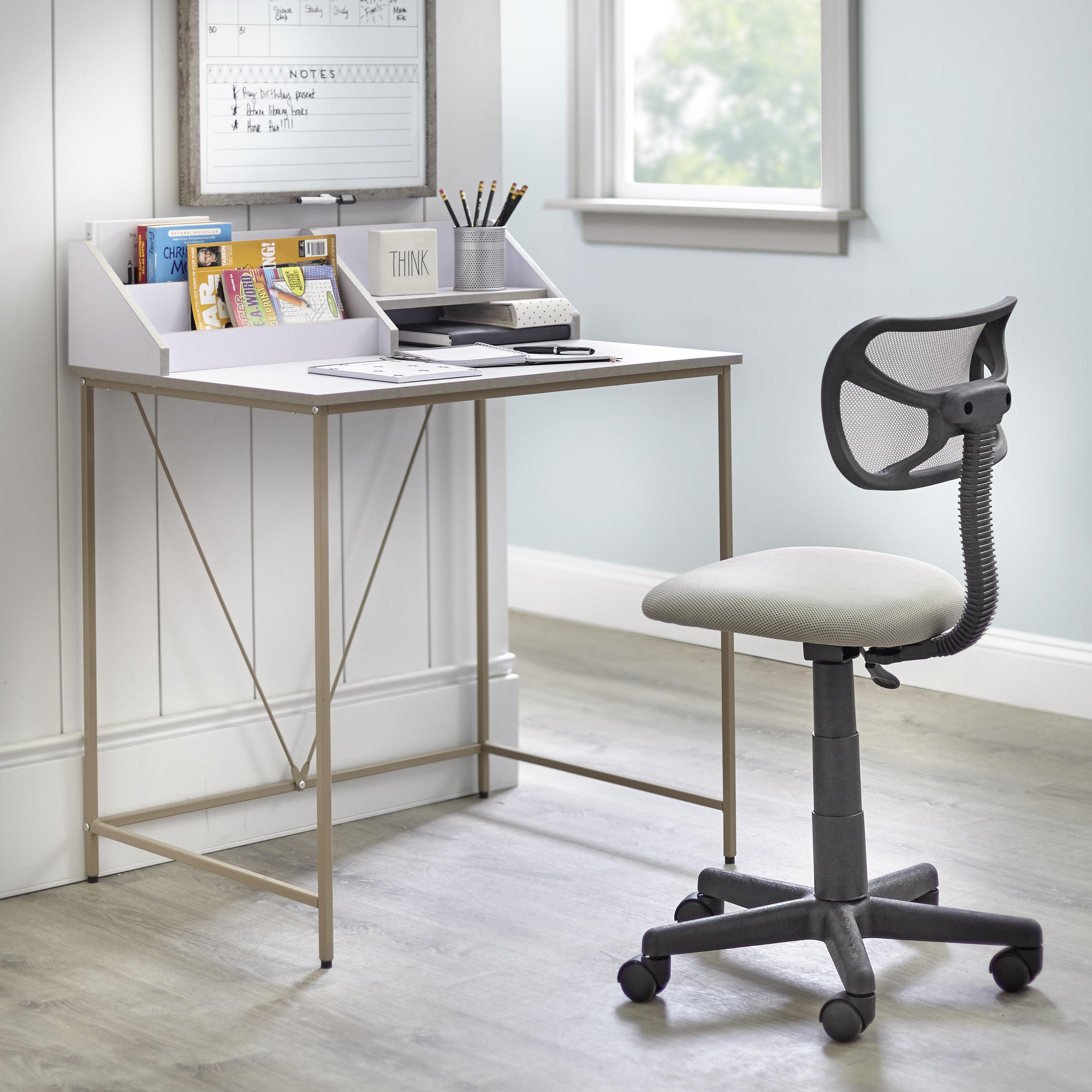 Cool Ebern Designs Morgane Desk And Chair Set Reviews Wayfair Creativecarmelina Interior Chair Design Creativecarmelinacom