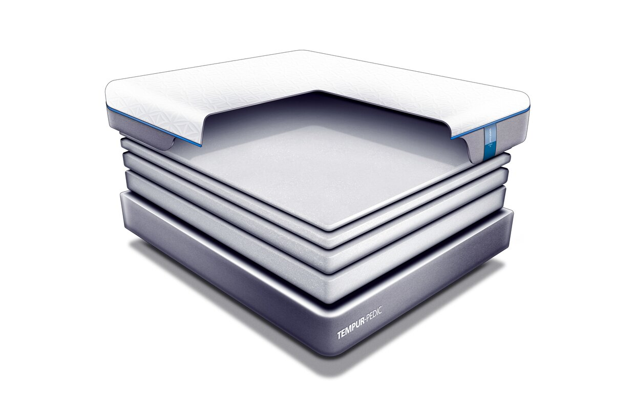 tempur pedic tempur cloud prima 10 medium firm memory. Black Bedroom Furniture Sets. Home Design Ideas