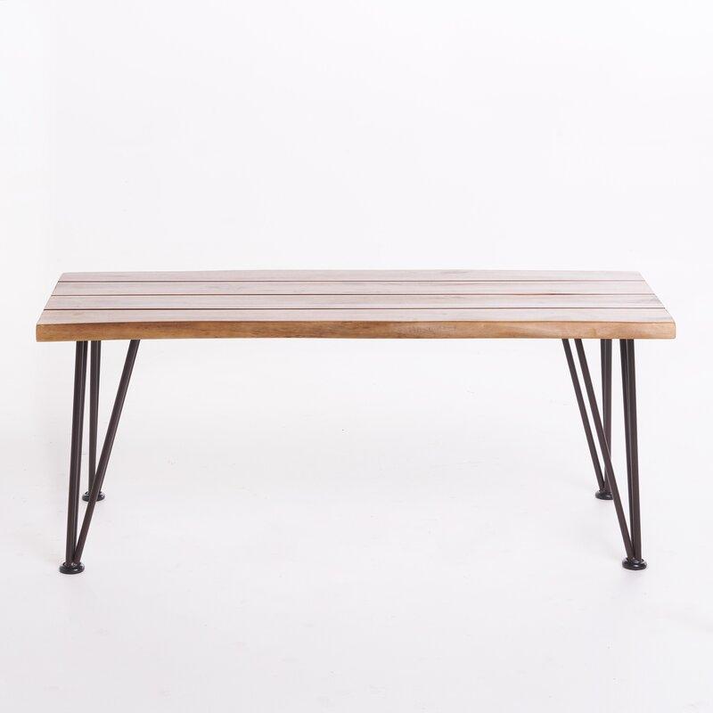 Guyapi Indoor Acacia Wood Coffee Table