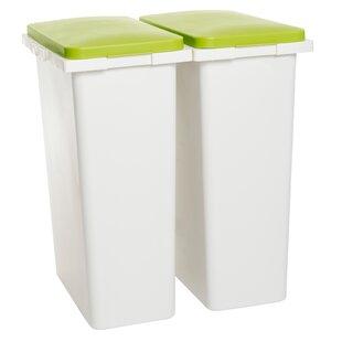 Recycling Bin (Set of 2)  sc 1 st  Wayfair & Outdoor Recycling Bin Storage | Wayfair.co.uk