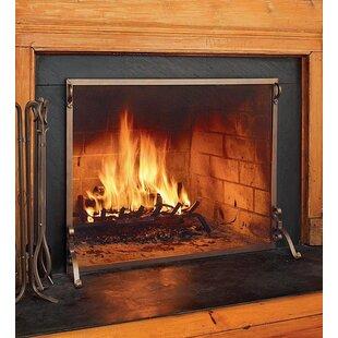 wooden fireplace screen. Save to Idea Board Fireplace Screens  Doors You ll Love Wayfair