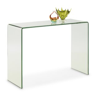 Beau Praiano Bent Glass Console Table ...