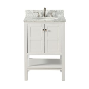 Kristanna 24  Single Bathroom Vanity Set24 Inch Bathroom Vanities You ll Love   Wayfair. 24 In Vanity With Sink. Home Design Ideas