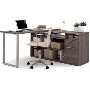 alves melamine top computer desk