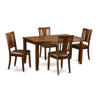 Dudley 5 Piece Dining Set Herry Up