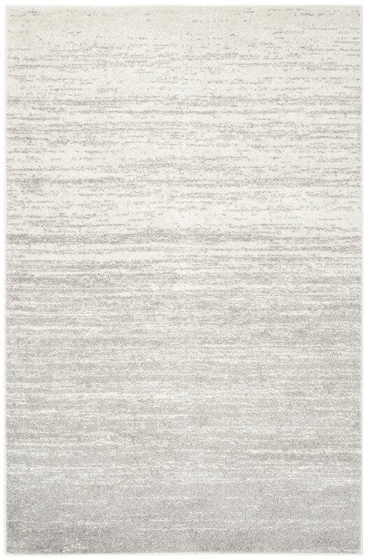 Mercury Row Busick Ivory Silver Area Rug Amp Reviews Wayfair