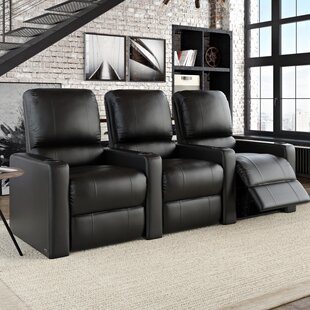 Contemporary Home Theatre Lounger (Row Of 3)