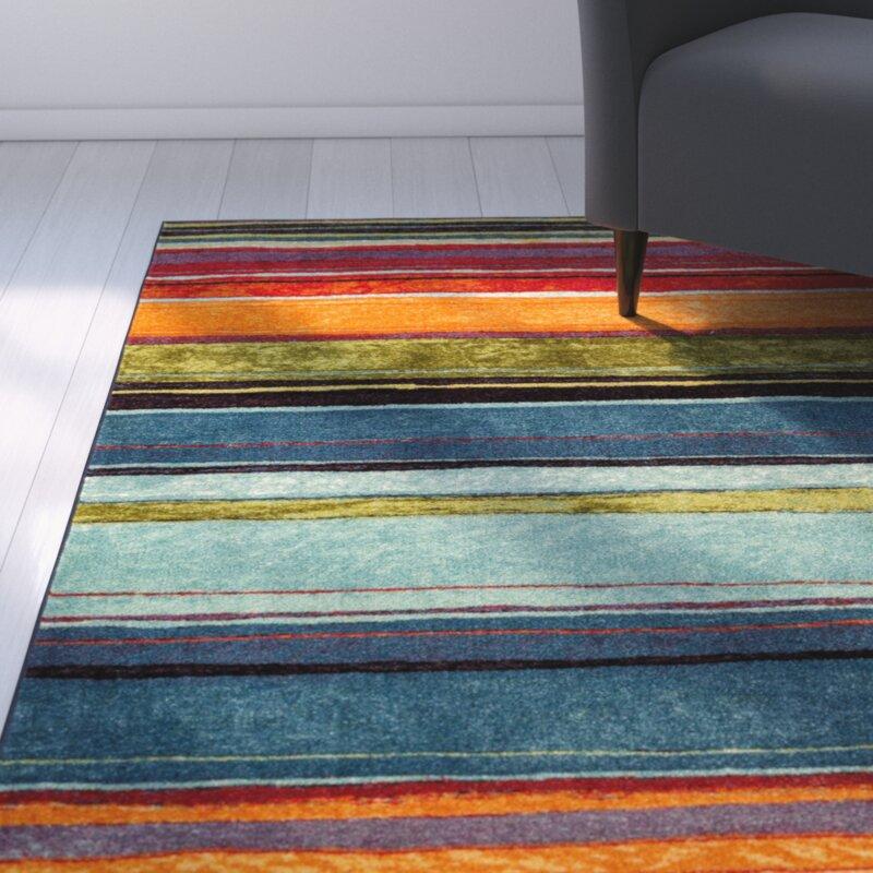 bartlett las cazuela multi-color area rug & reviews | birch lane