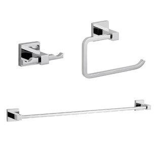 Zane 3 Piece Bathroom Hardware Set
