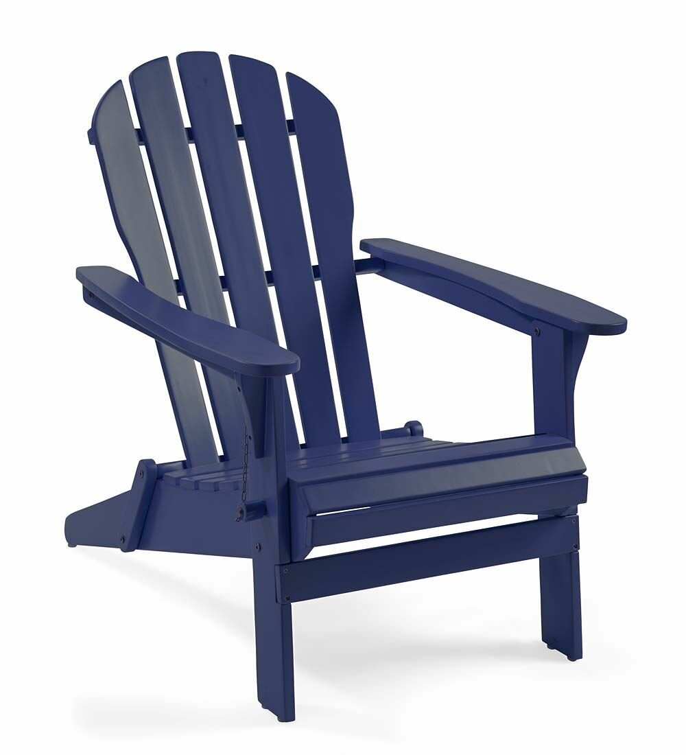plow hearth wood adirondack chair reviews wayfair - Decorating Adirondack Chairs For Christmas