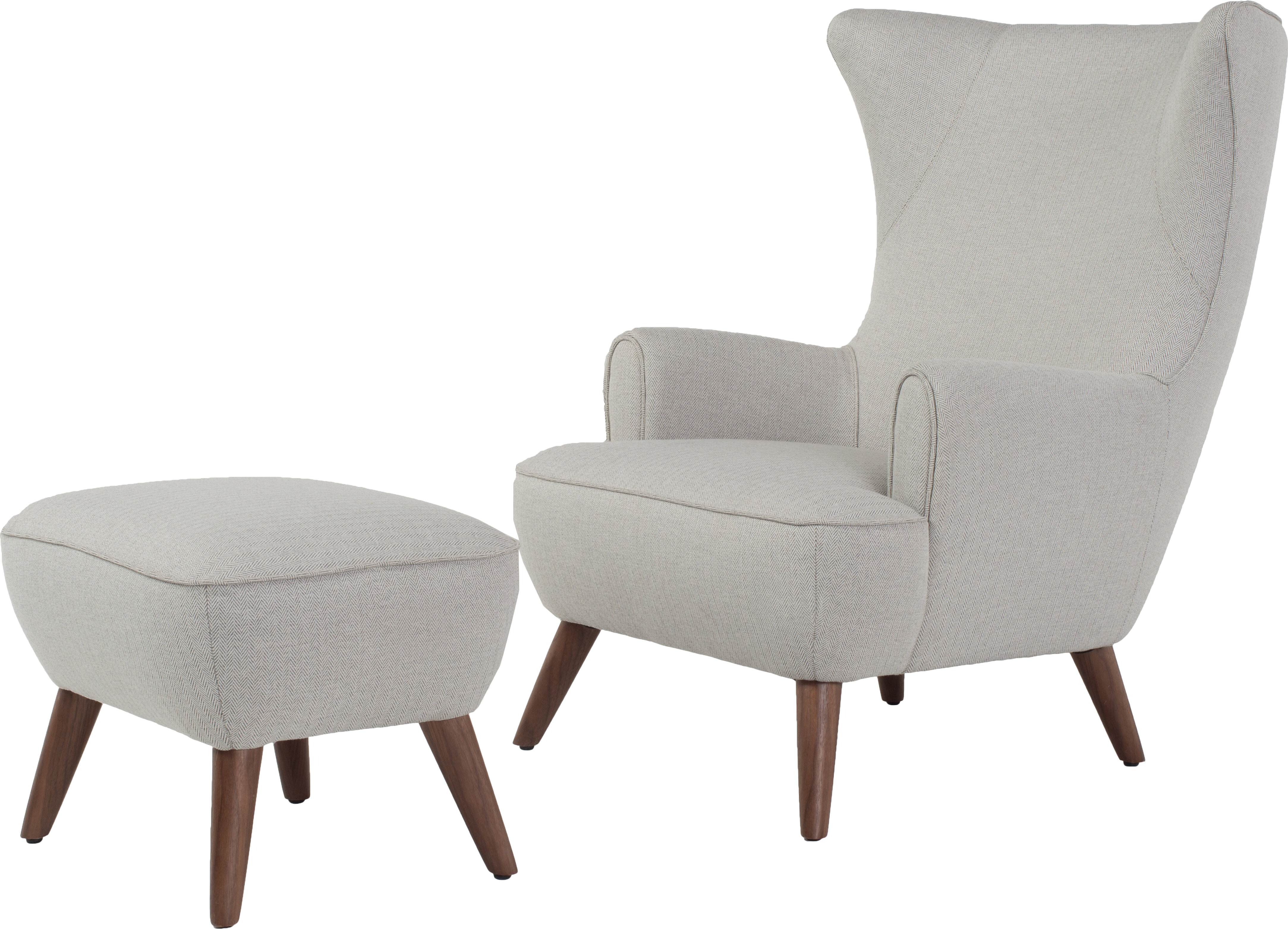 Wayfair Dining Room Chair Covers: Corrigan Studio Ruby High Back Wingback Chair And Ottoman