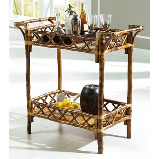 Coastal Chic Bar Cart