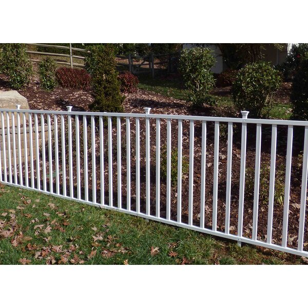 Captivating Zippity Outdoor Products 4u0027 X 7u0027 Birkdale Semi Permanent Vinyl Garden Fence  U0026 Reviews | Wayfair