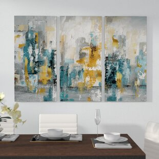 City Views II Multi Piece Image On Wrapped Canvas