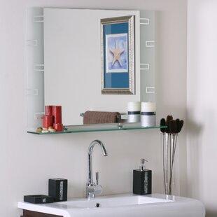 under mirror shelf wayfair