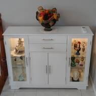Wondrous Dufferin 4 Door Accent Cabinet Home Interior And Landscaping Ferensignezvosmurscom