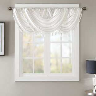 room valance valances treatments burgundy waverly living window with