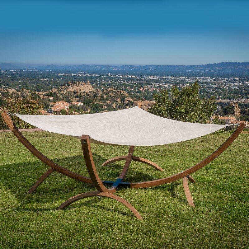 arica olefin hammock with stand beachcrest home arica olefin hammock with stand  u0026 reviews   wayfair  rh   wayfair