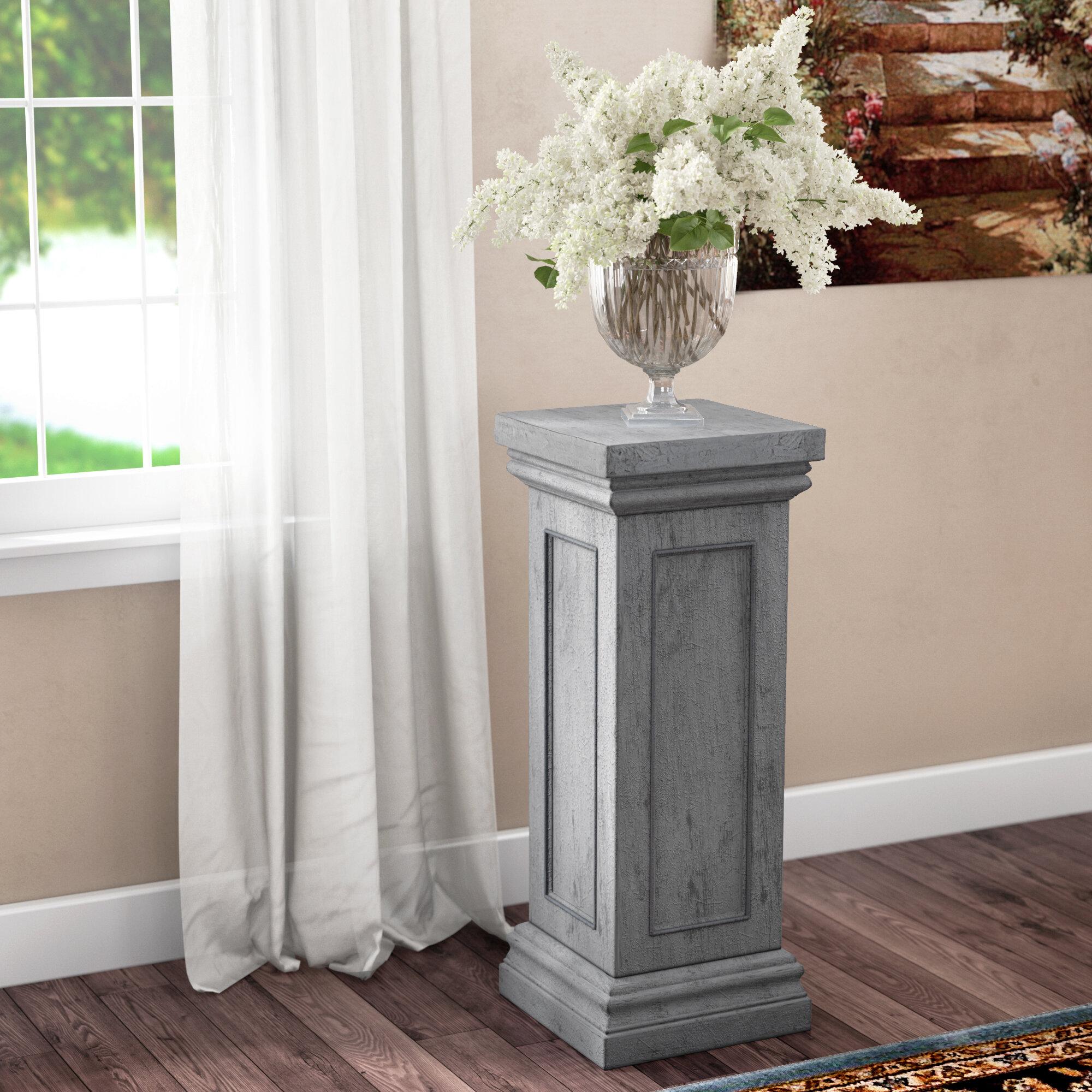 Etonnant Duchesne Rectangular Pedestal Plant Stand
