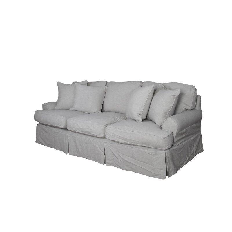 August Grove Callie T Cushion Sofa Slipcover Reviews Wayfair