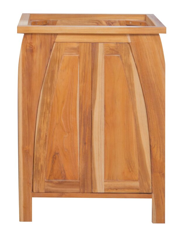 EcoDecors Tranquility Solid Teak 24\