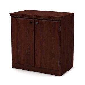 Elegant Morgan 2 Door Storage Cabinet