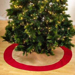Kamala Diamond Pleated Christmas Stocking Tree Skirt