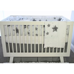 Vargas Stars Love You To The Moon 4 Piece Crib Bedding Set
