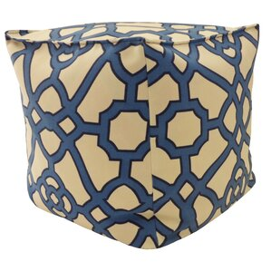 Octagon Outdoor Pouf Ottoman by Jiti