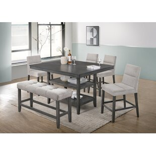 Timberlake 6 Piece Counter Height Dining Set