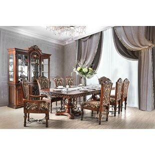 Alexandro 9 Piece Extendable Dining Set