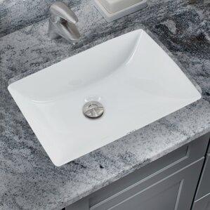 Replacing Undermount Bathroom Sink Granite find the best undermount sinks | wayfair