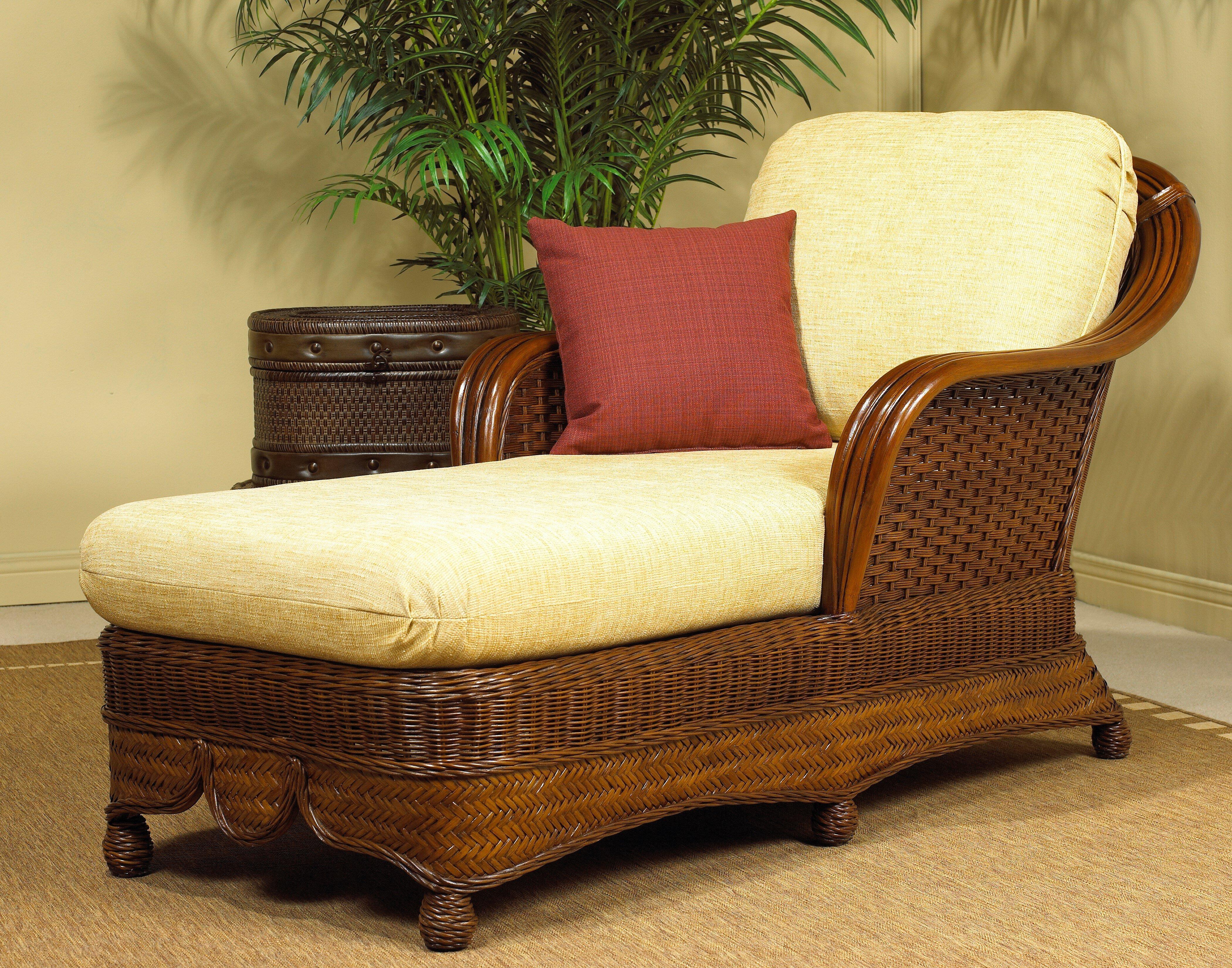 Boca Rattan Moroccan Chaise Lounge & Reviews | Wayfair