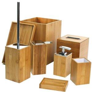 Potus 8-Piece Bathroom Accessory Set