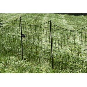 42 in. x 35 in. Zippity Garden Fence Gate..