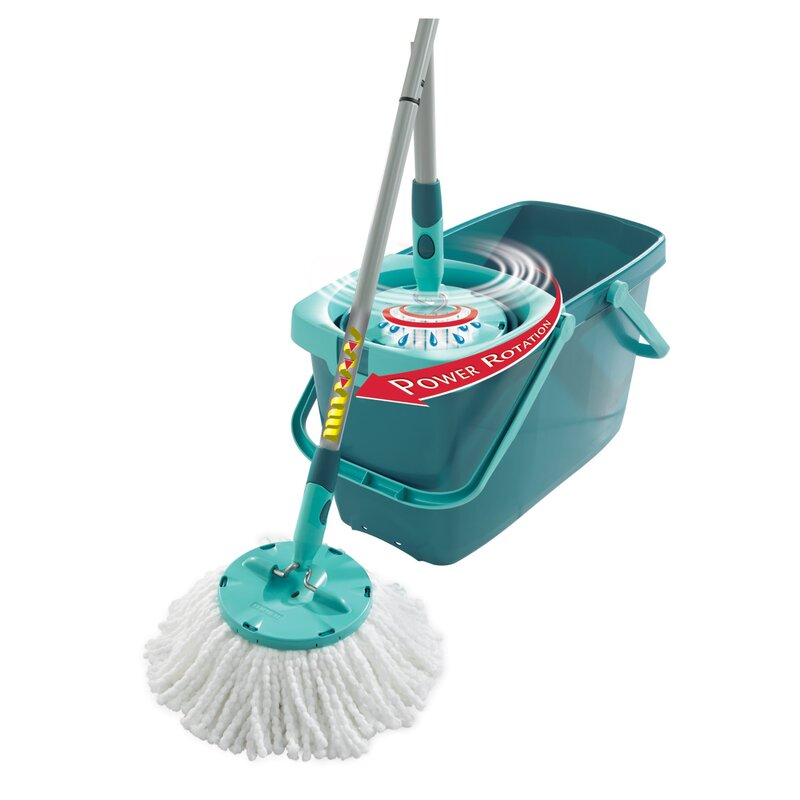 Leifheit Clean Twist Mop Set With Mop And Spin Bucket Reviews