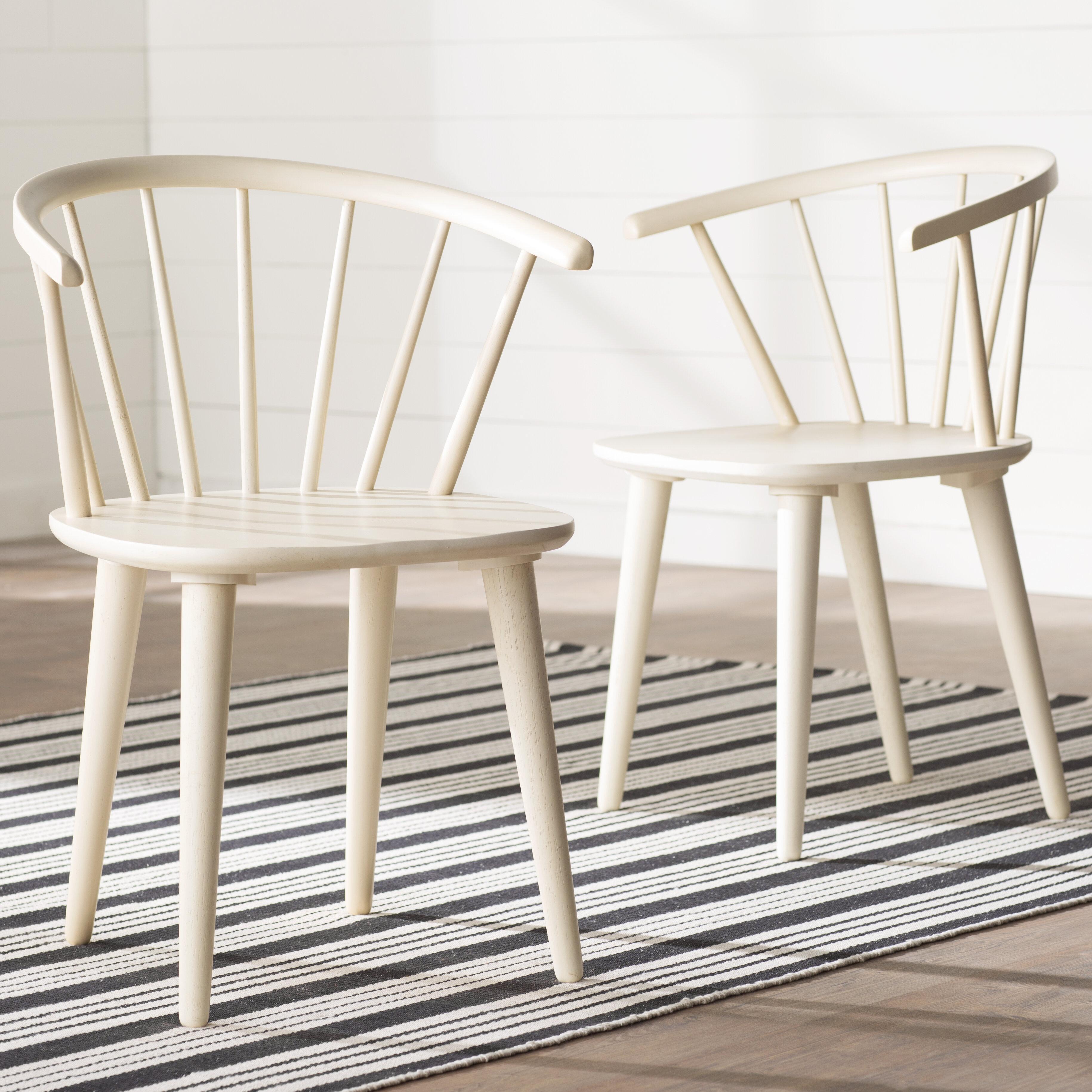 e695487e47f August Grove Dora Grove Solid Wood Dining Chair   Reviews