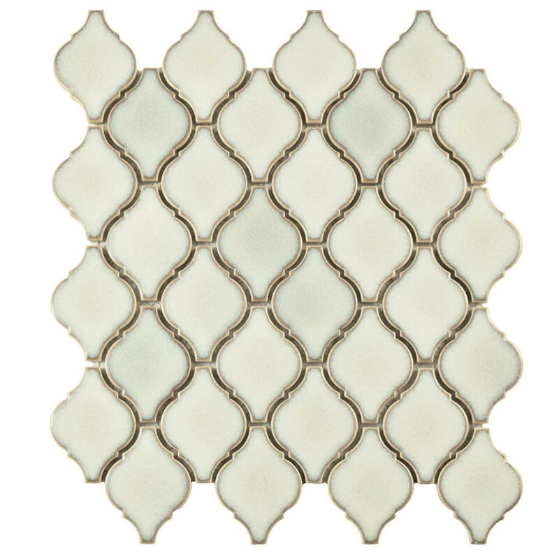 Elitetile Arabesque 1 87 Quot X 2 75 Quot Porcelain Mosaic Tile In