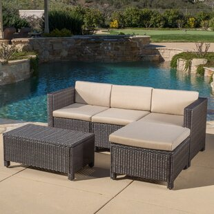 Small Outdoor Sectional | Wayfair