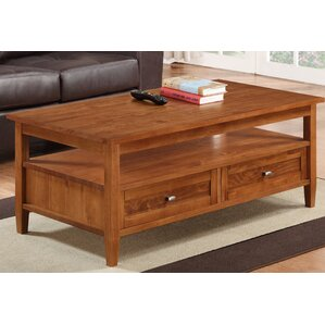 Warm Shaker Coffee Table by Si..