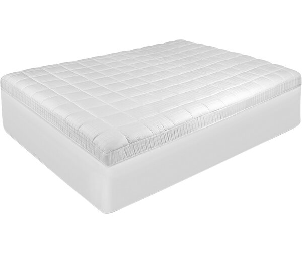 Biopedic Luxury Euro Top Mattress Pad Reviews Wayfair