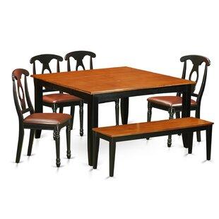 Pilning Contemporary 6 Piece Dining Set