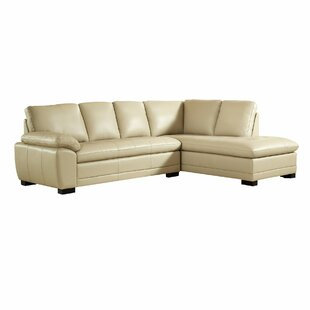Denice Genuine Leather Sectional