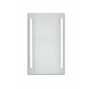 Corby 23 5 X 39 Surface Mount Frameless Medicine Cabinet With Led Lighting